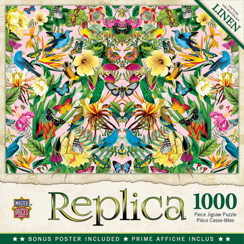 Blue Birds Replica 1000 Piece Jigsaw Puzzle
