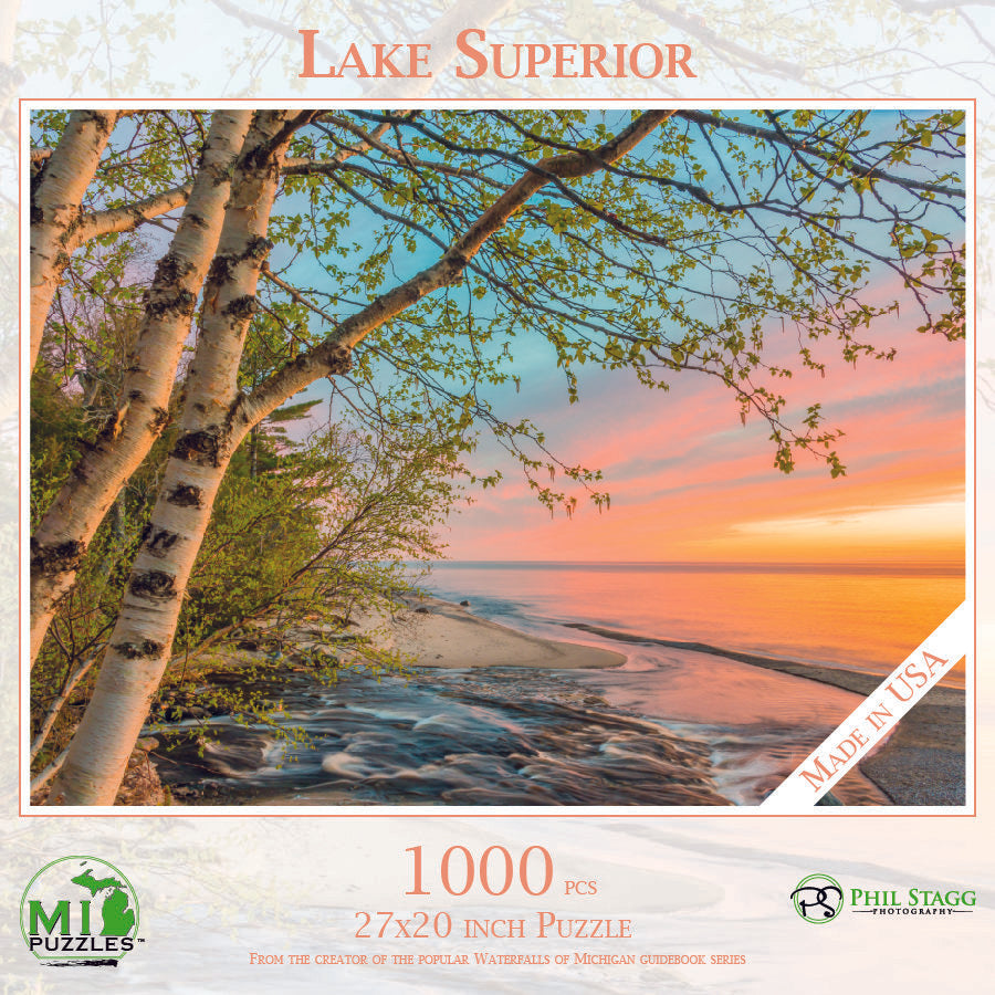 Lake Superior 500 Piece Puzzle
