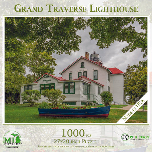 Grand Traverse Lighthouse 1000 Piece Puzzle