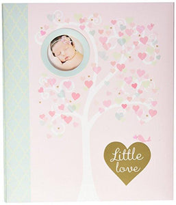 Infants-C.R. Gibson-Loose Leaf Memory Book - Little Love - Petals and Postings