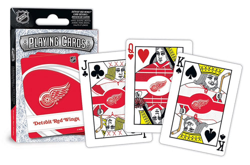 Detroit Red Wings Playing Cards