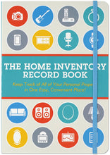 Load image into Gallery viewer, Peter Pauper Press - The Home Inventory Record Book