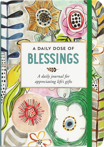 Peter Pauper Press A Daily Dose of Blessings Journal