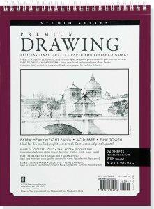 Peter Pauper Press Premium Drawing 8x10 Pad