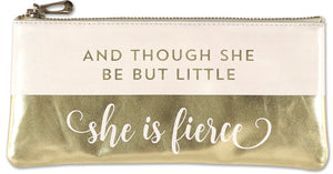 Peter Pauper Press She Is Fierce Pouch