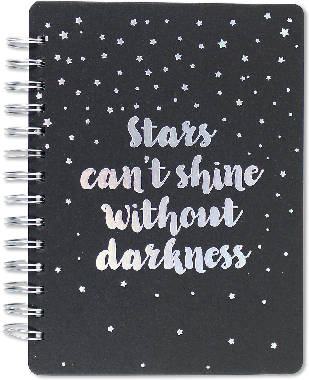 Peter Pauper Press Stars Can't Shine Without Darkness Journal