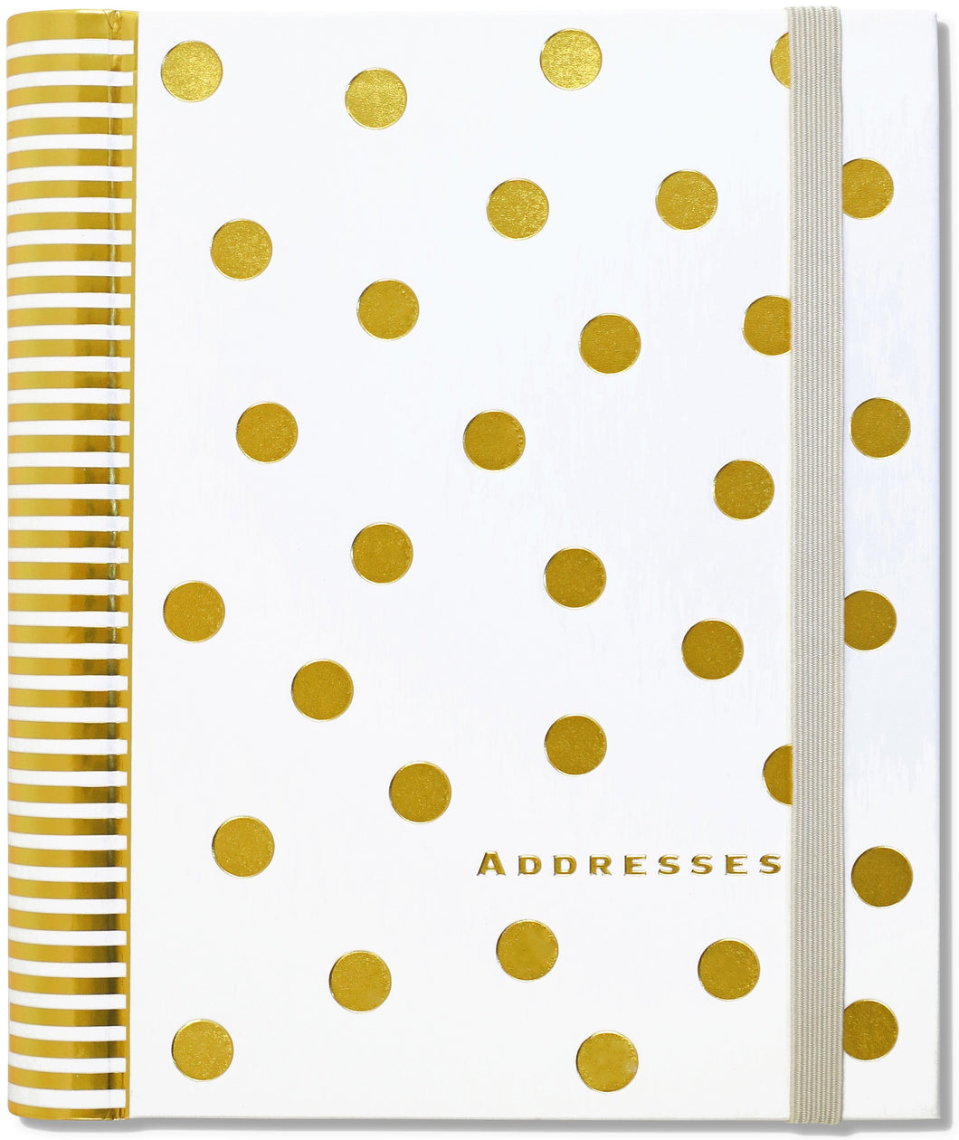 Peter Pauper Press Gold Dot Large Address Book