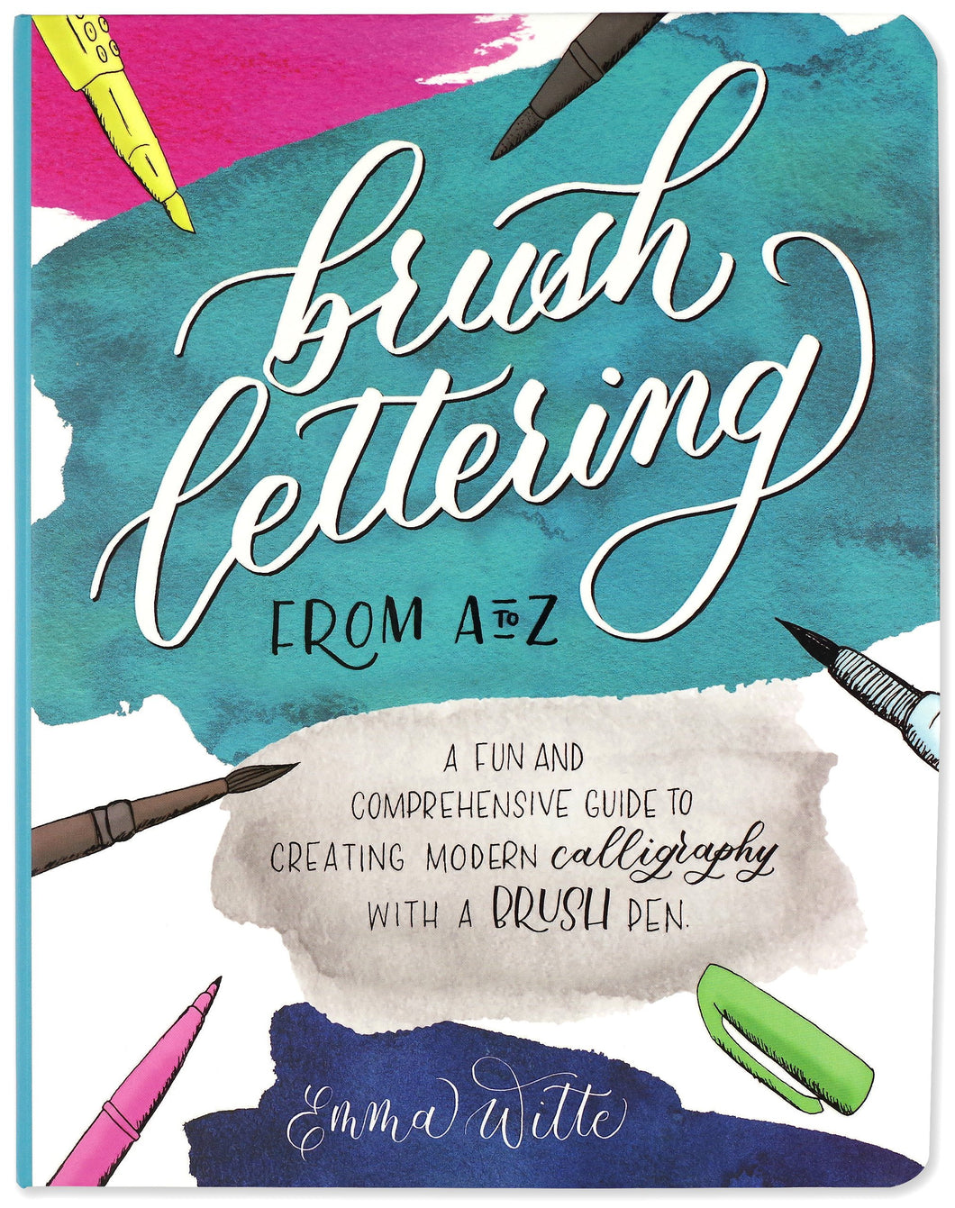 Peter Pauper Press Brush Lettering Activity Journal
