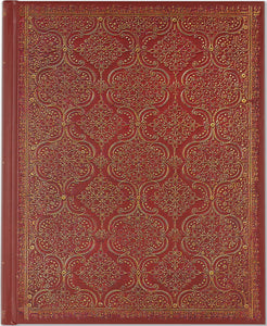 Peter Pauper Press Garnet Filigree Oversized Journal