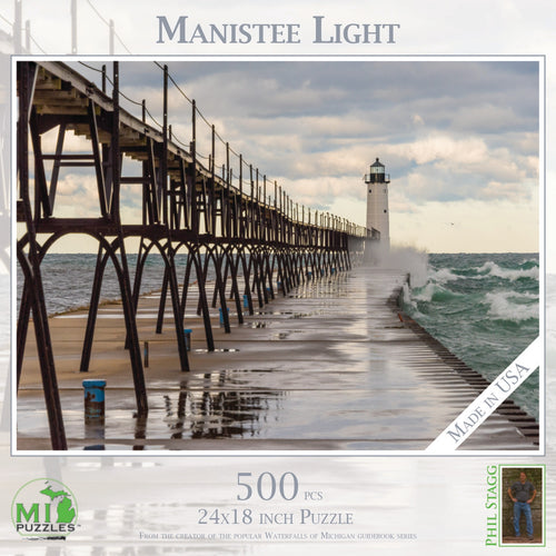 Manistee Light 500 Piece Puzzle