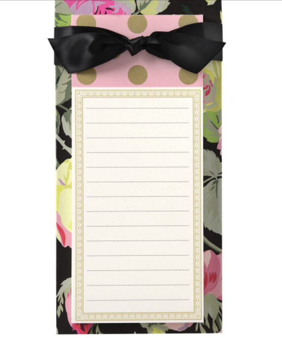 Anna Griffin Floral List Pad