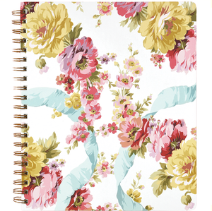 Anna Griffin Spiral Notebook Rose