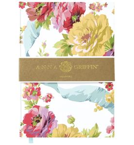 Anna Griffin White Rose Journal