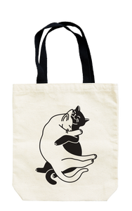Seltzer Goods Snuggle Cats Tote Bag