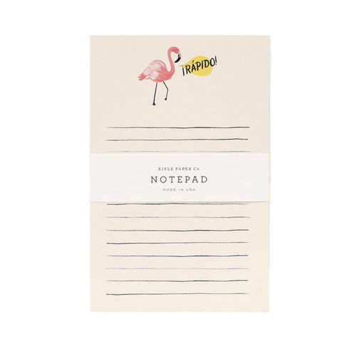 Rifle Paper Co. Flamingo Notepad