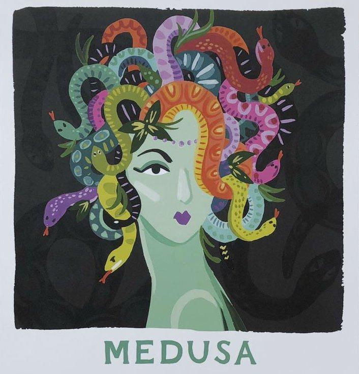 Ladies of Legend Medusa Print