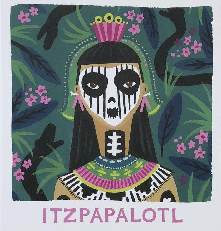Ladies of Legend Itzapalotl Print