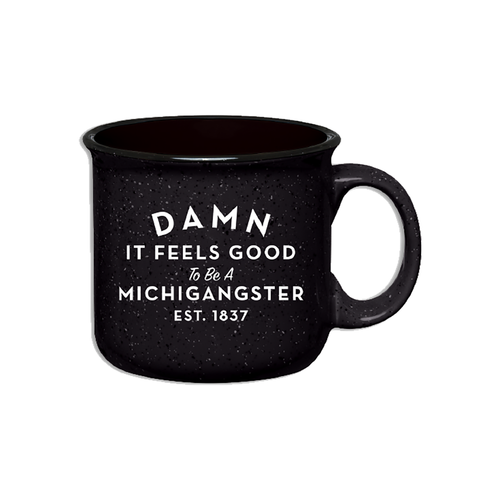 Midwest Supply Co. Michiganster Mug in Black