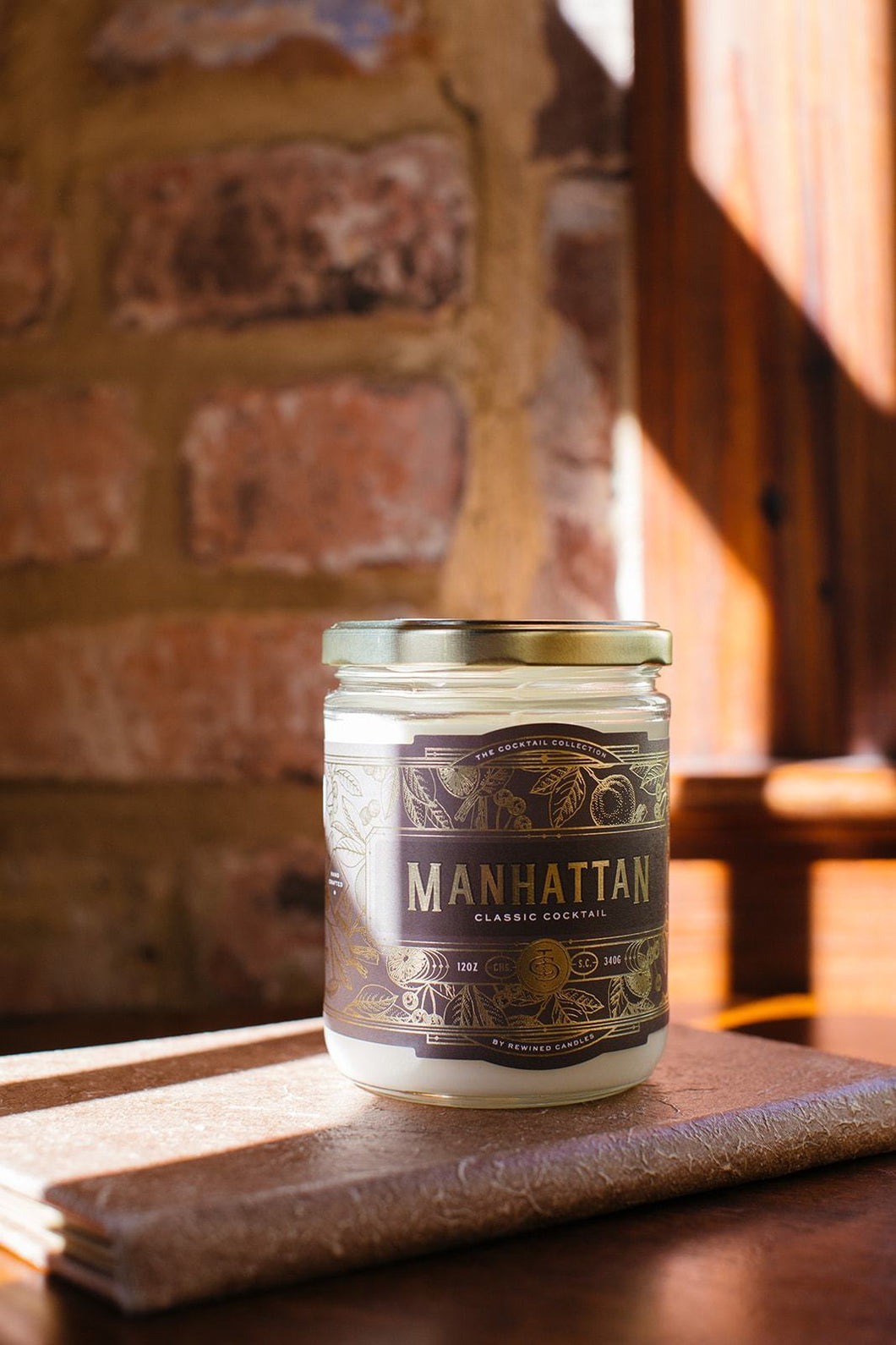Rewined Manhattan Candle