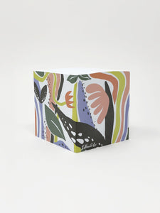 Idlewild Co. Fantastic Garden Sticky Note Cube
