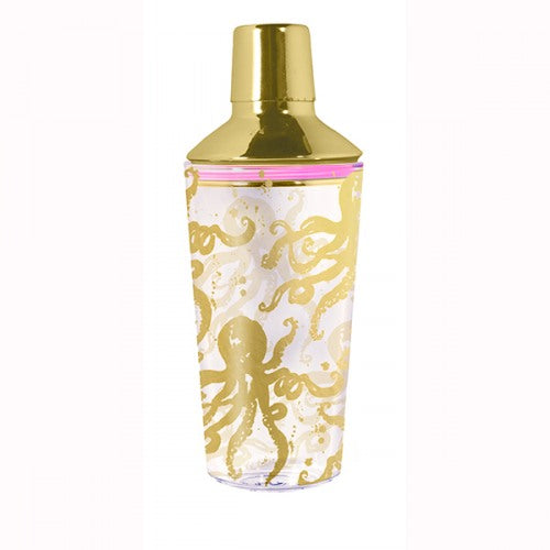 Lilly Pulitzer Octopus Cocktail Shaker