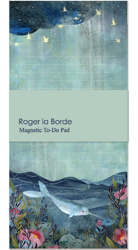 Roger la Borde Sea Dreams Magnetic To-Do Pad