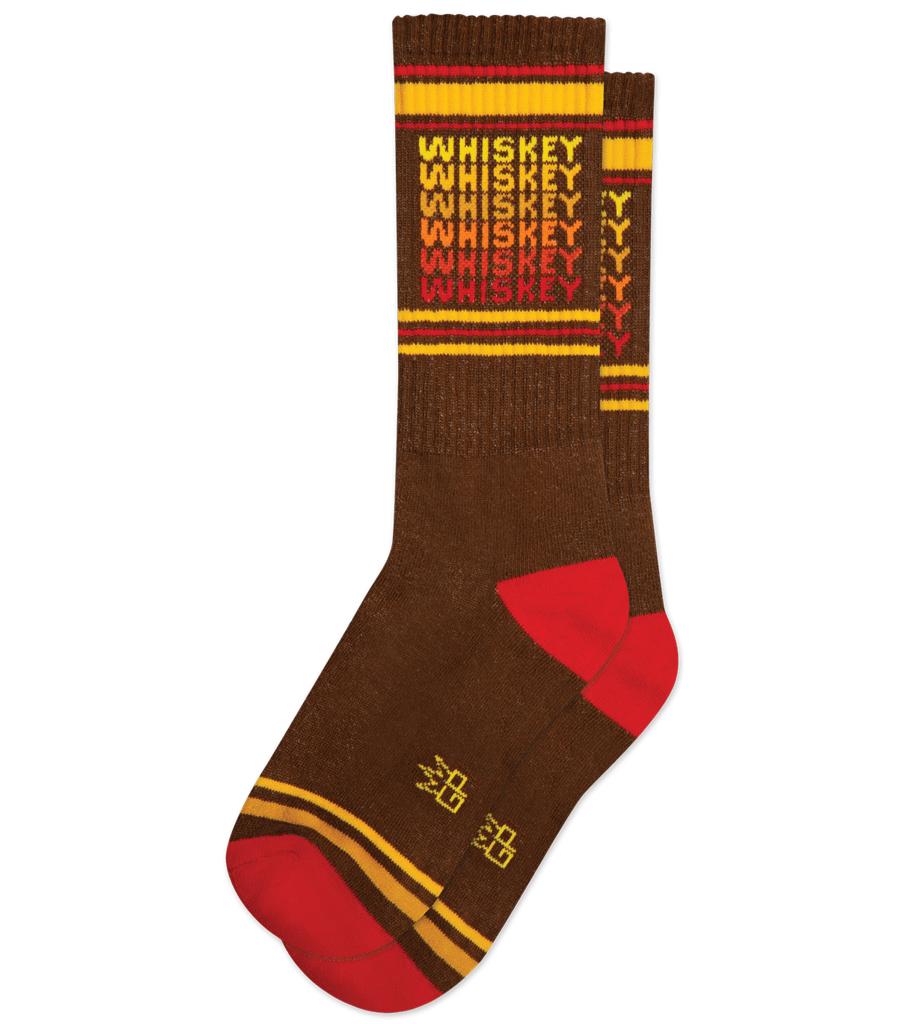 Gumball Poodle Whiskey Socks