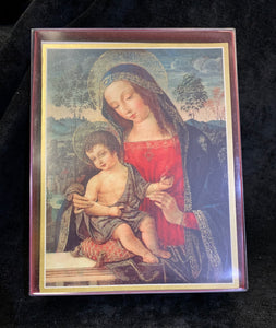 Madonna and Child - Caspari Holiday Cards - Christmas Cards - Set of 16