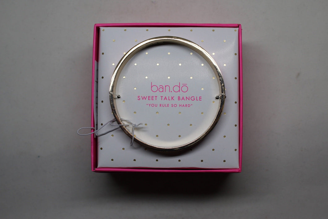 Ban.do Bangle - You Rule So Hard - Sweet Talk Bangle