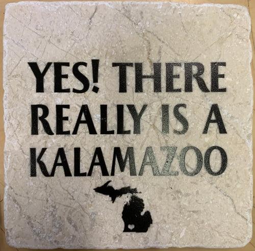 Yes! There Really Is A Kalamazoo Marble Coaster, Noomoon