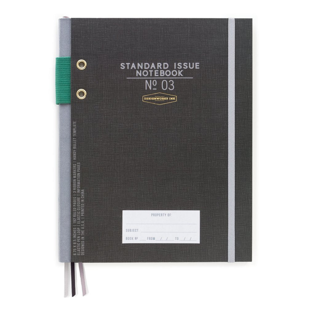 Designworks Black Standard Issue Journal