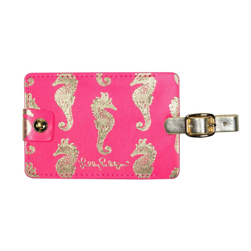 Lilly Pulitzer Horsin Around Luggage Tag
