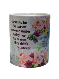 Erin Smith Art Reason To Smile Coffee Mug