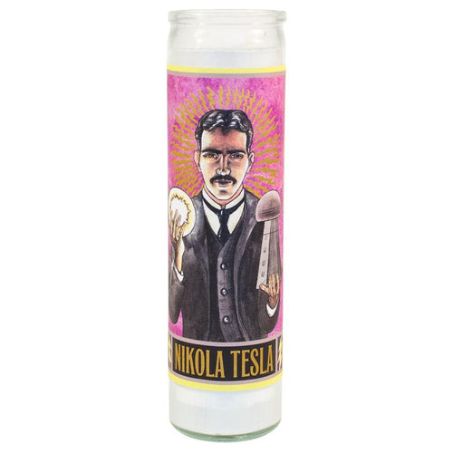 Unemployed Philosopher's Guild Nikola Tesla Candles