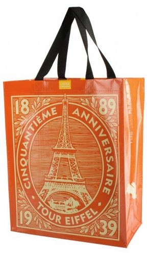 Eiffel Tower Recycled Tote Bag - Petals and Postings