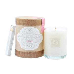 Linnea's Lights Peony Votive Candle