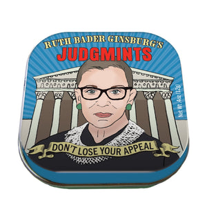 Unemployed Philosophers Guild Ruth Bader Ginsburg Judgemints Mints
