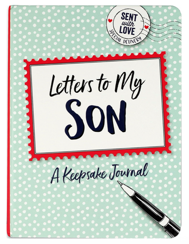 Peter Pauper Press Letters to my Son Interactive Journal