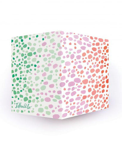 Speckle Spectrum Sticky Note Cube - Petals and Postings