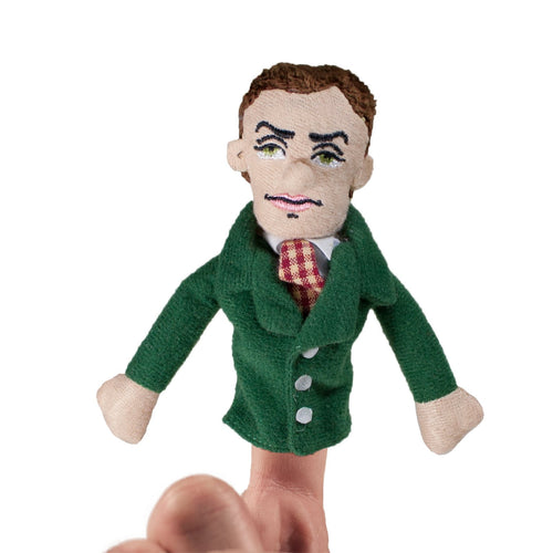Alan Turing Finger Puppet and Fridge Magnet