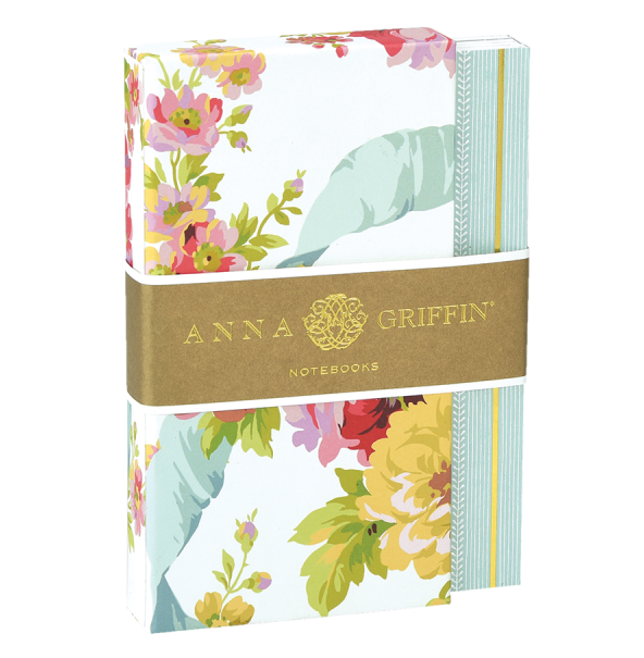 Anna Griffin White Rose Mini Notebook Set