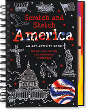 Load image into Gallery viewer, Peter Pauper Press Trace - Along Scratch and Sketch America