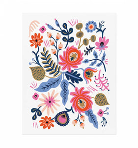 Rifle Paper Co. Russian Folk Art Print - Petals and Postings