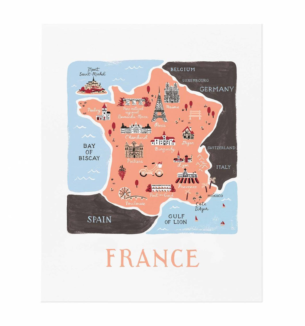 France Art Print Rifle Paper Co.
