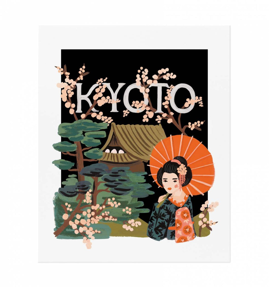 Kyoto Art Print - Petals and Postings