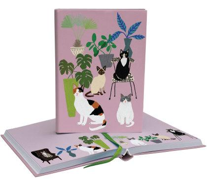 Roger la Borde Cat Palais Luxe Illustrated Journal