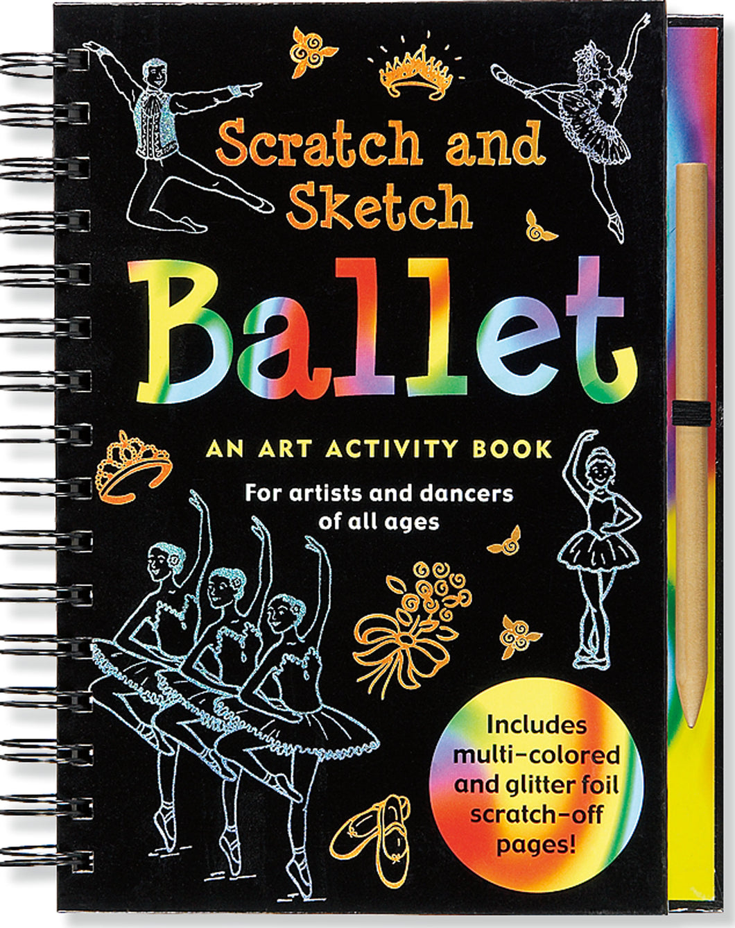 Peter Pauper Press Trace - Along Scratch and Sketch Ballet