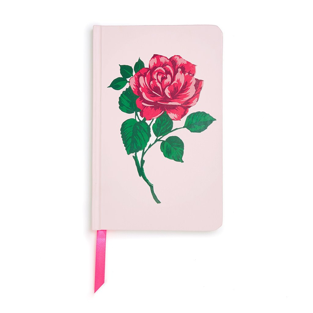 Will You Accept this Rose? Hardcover Notebook - Petals and Postings