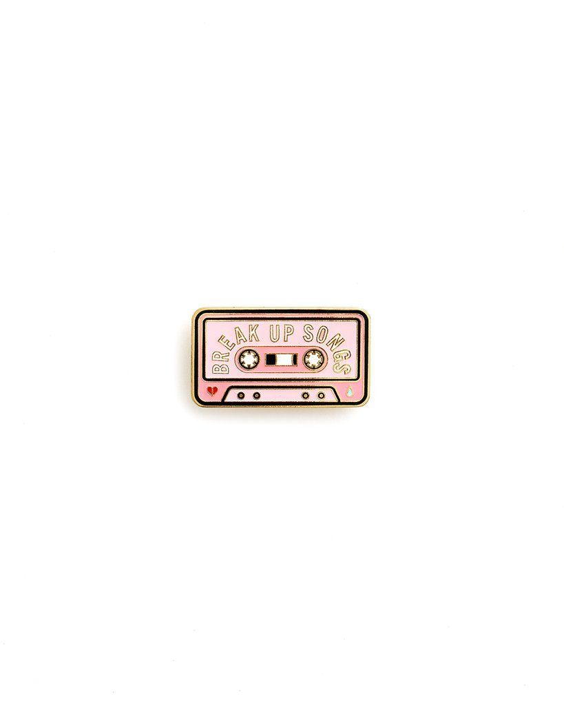 Ban.do Break Up Songs Enamel Pins