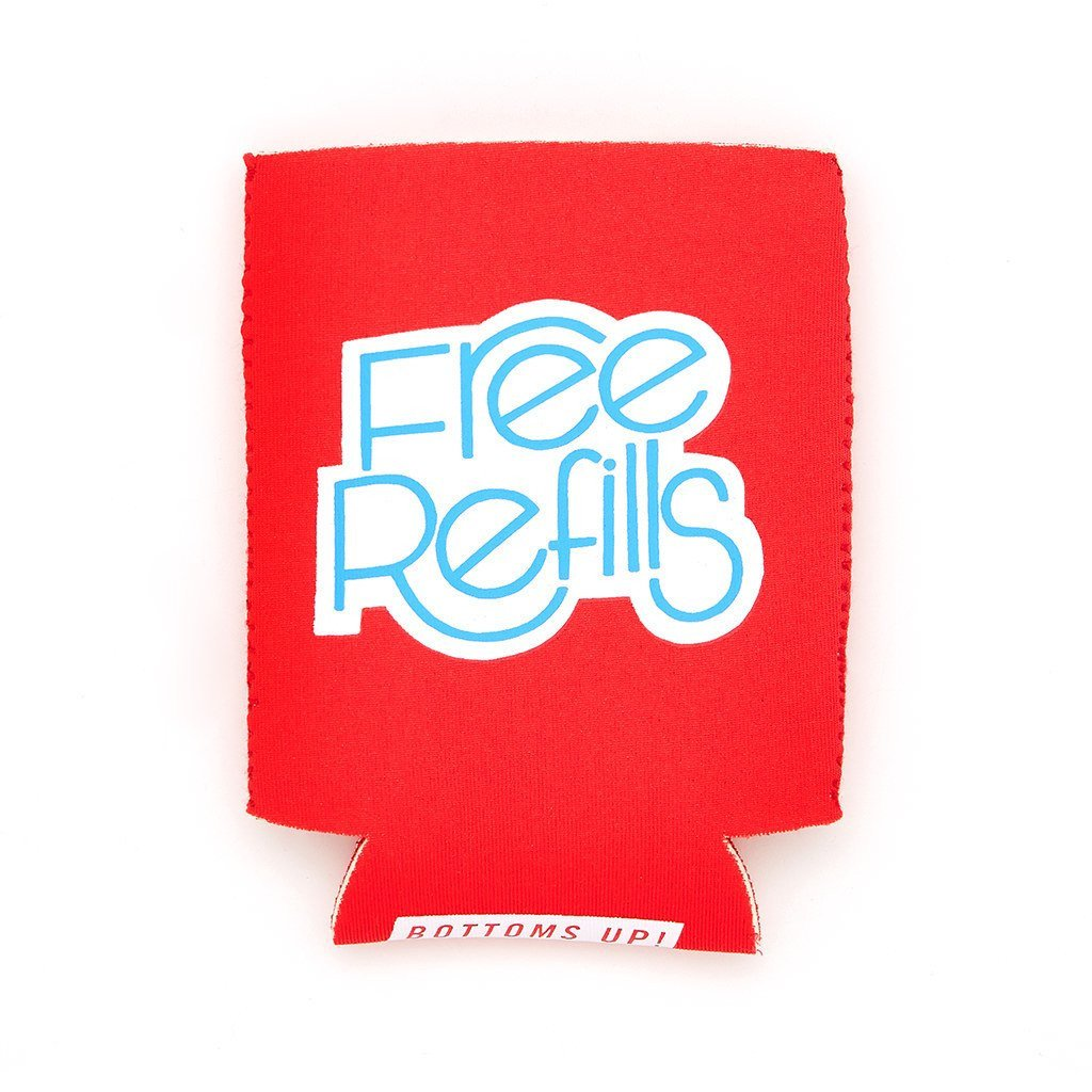 Free Refills Drink Hugger - Petals and Postings